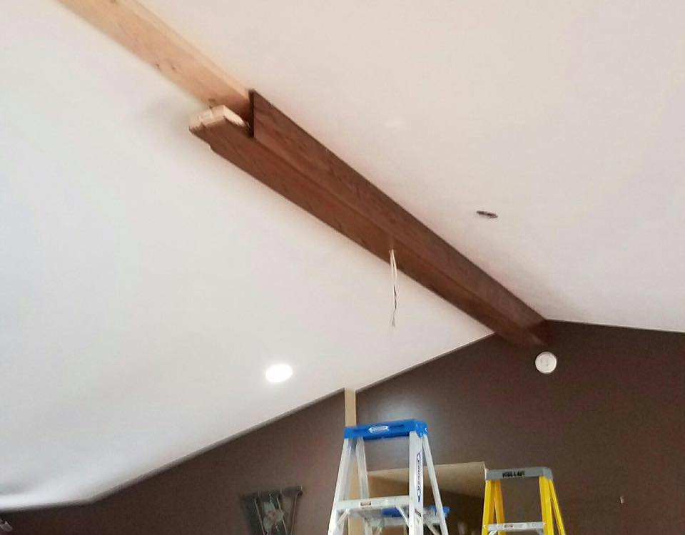 Box Beam Built And Installed By B Douglas Construction B